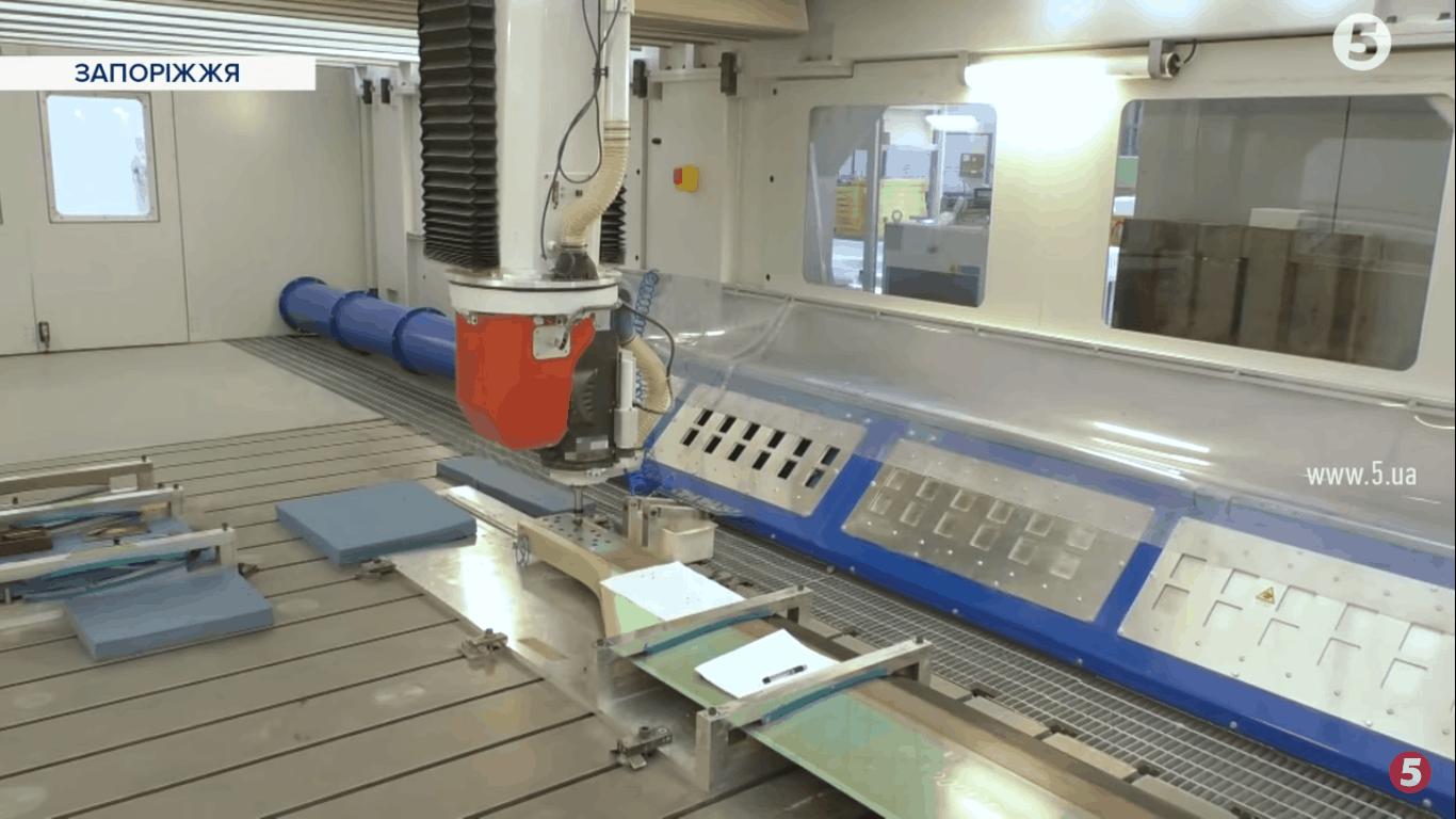 Процес виробництва композитних лопатей на АТ «Мотор Січ»