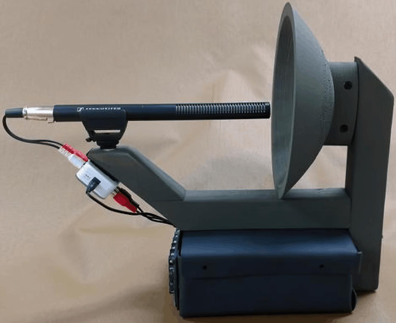 Ілюстрація звукового пристрою від інженера ВМФ США Крістофера Брауна