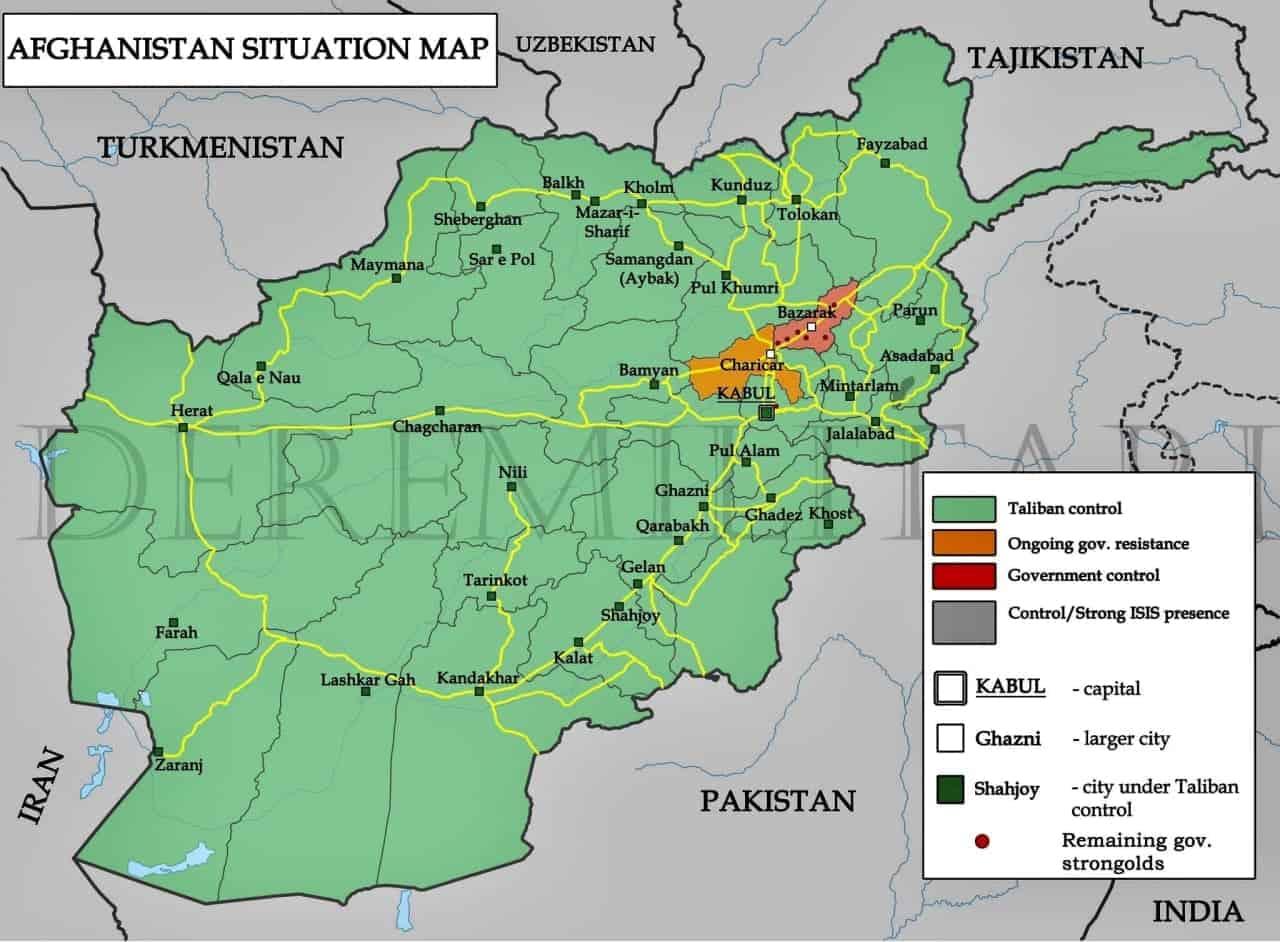 Ситуація в Афганістані