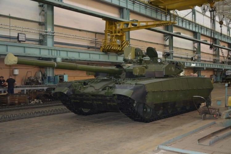 Танк «Оплот-2М»