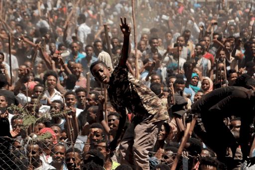 протести в Аддис-Абебі 2017 рік