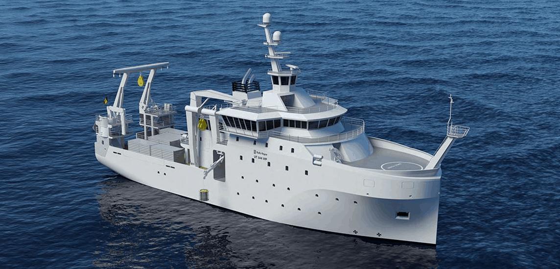 Майбутнє нове дослідне судно Бельгії «Belgica-2»