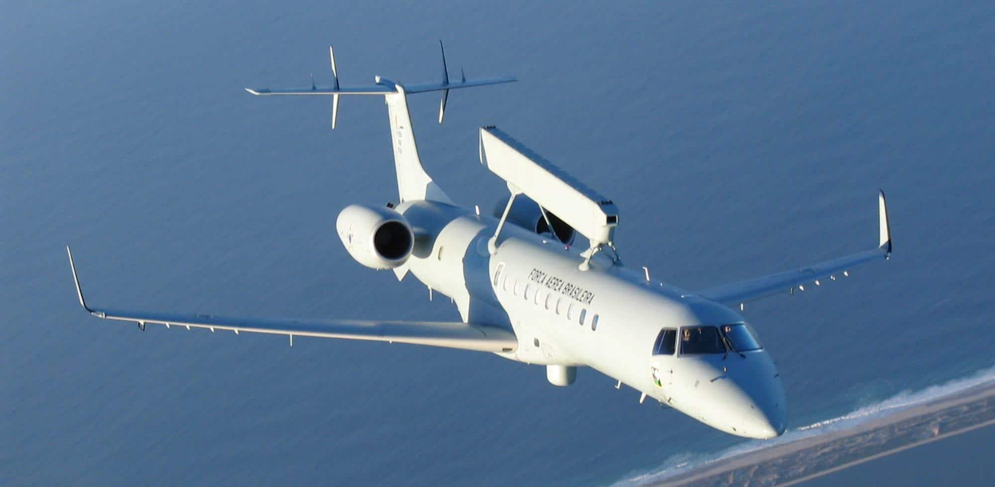 Літак дальнього радіолокаційного виявлення «Embraer» R-99 Повітряних сил Бразилії. Фото з відкритих джерел