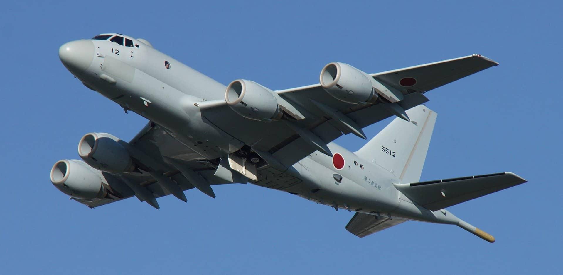 Морський літак Японії Kawasaki P-1
