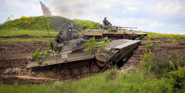 БМП-2 Збройних сил Словаччини