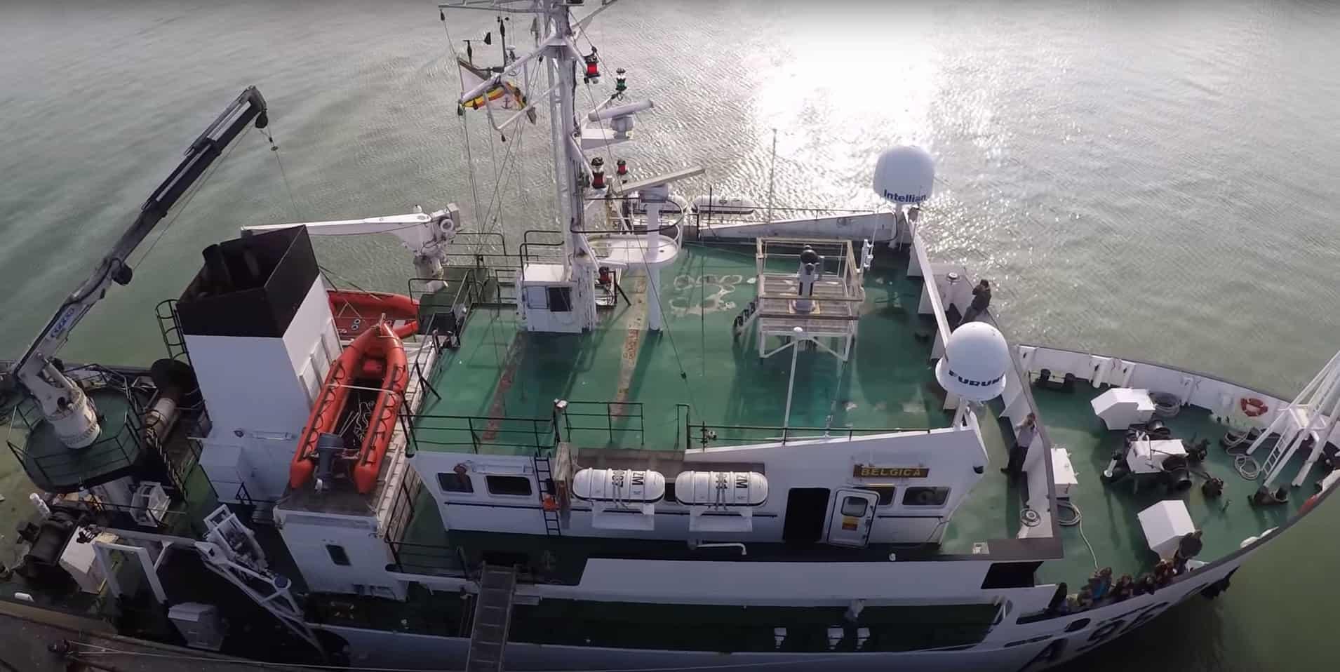 Морське дослідницьке судно «Belgica» (A962). Фото з відкритих джерел