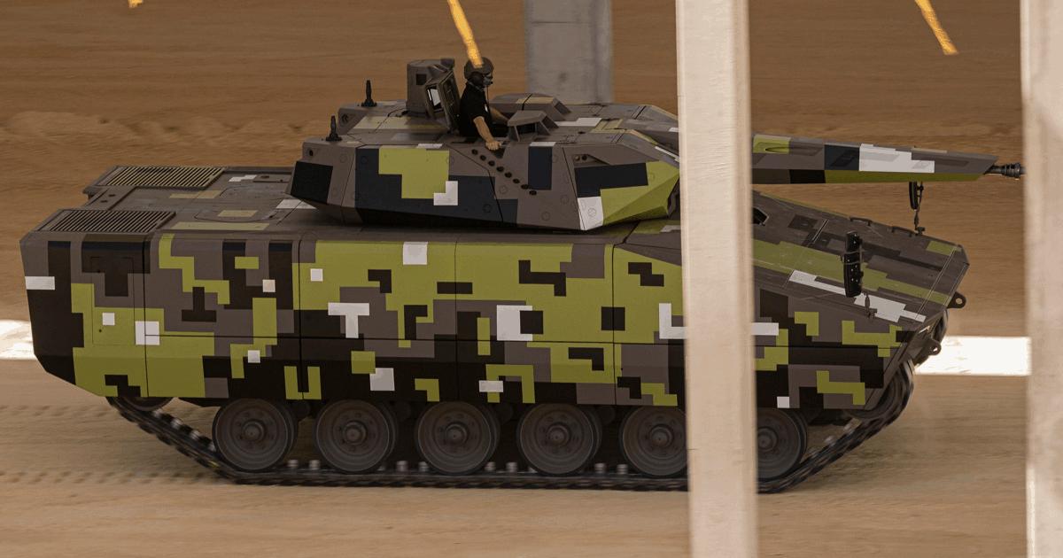 БМП Lynx на майбутньому заводі Rheinmetall Hungary Zrt в Угорщині. Вересень 2021. Фото: Міноборони Угорщини