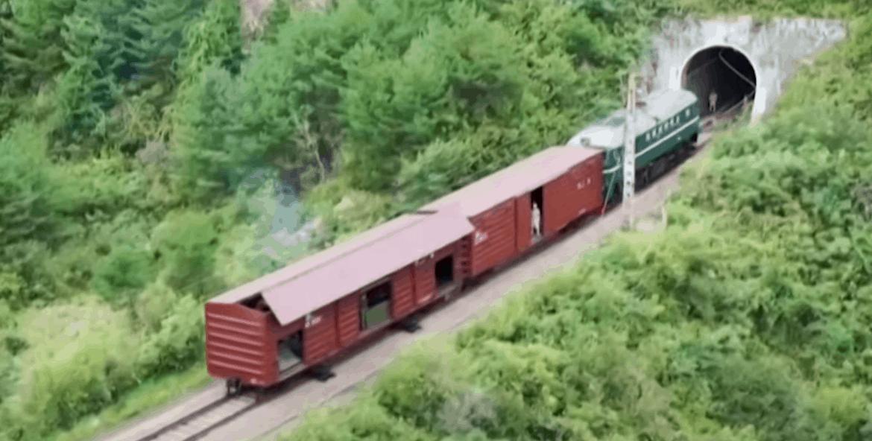 Потяг КНДР з балістичною ракетою. Вересень 2021