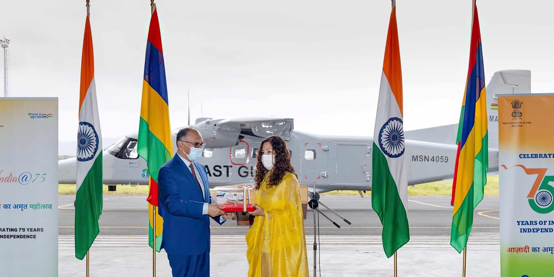Церемонія передачі літака. Вересень 2021. Фото: ВМС Індії