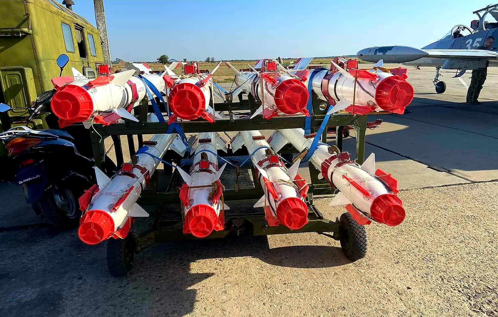 Керовані ракети Р-73 Повітряних сил України. Вересень 2021. Фото: ПС ЗСУ