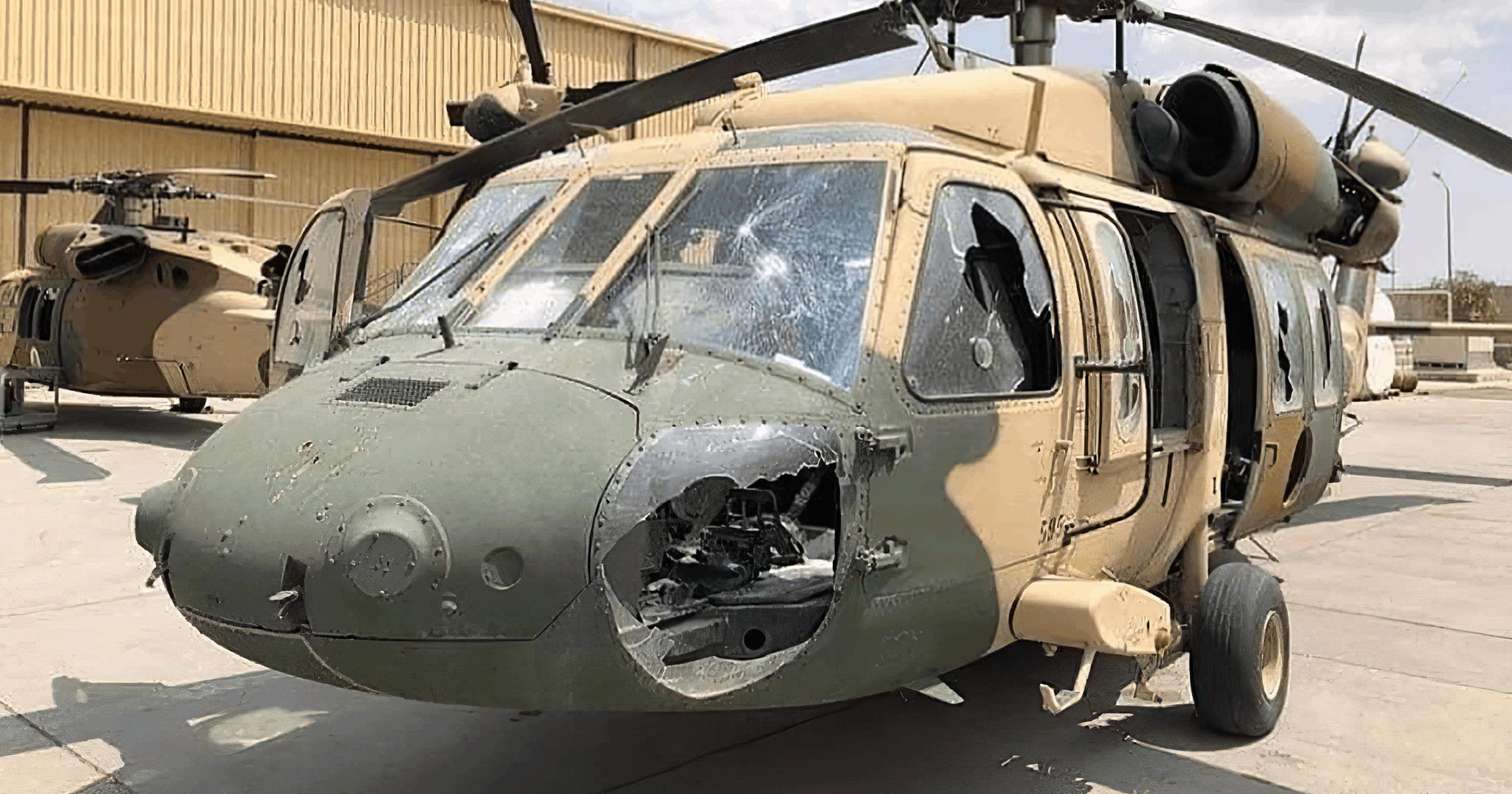 Виведена з ладу техніка в аеропорті Кабула. Серпень 2021