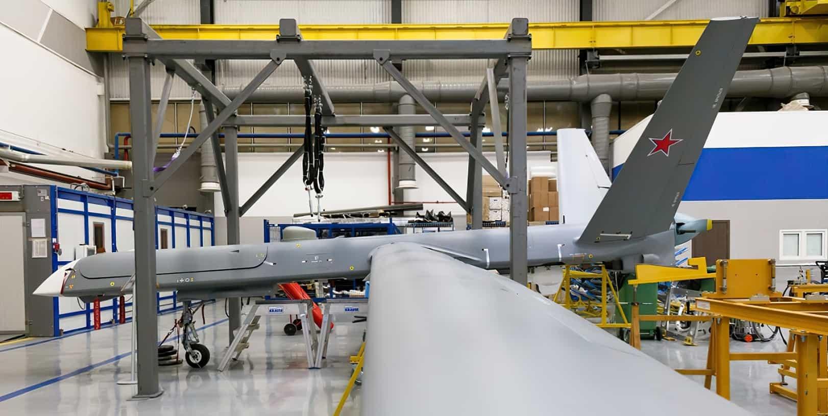 Будівництво для Міноборони РФ серійних безпілотних літальних апаратів великої тривалості польоту «Орион» (Иноходец). Лютий 2021
