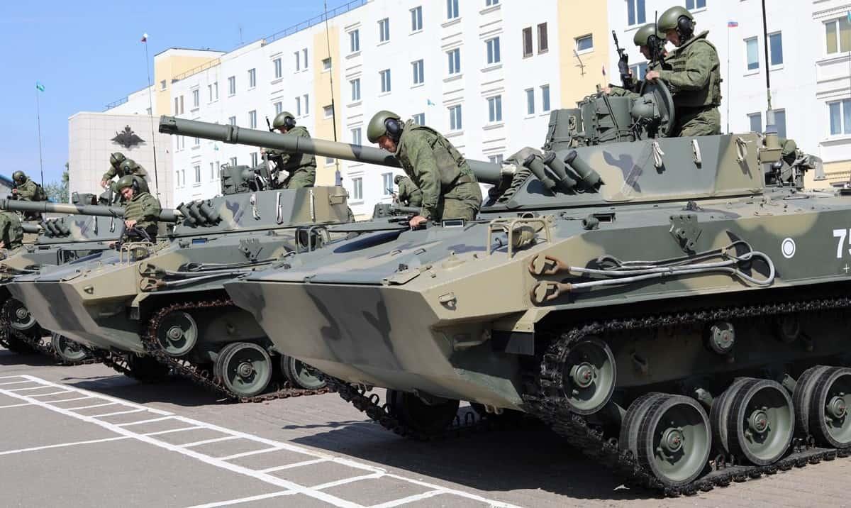 БМД-4М Збройних сил Росії у 2021 році.