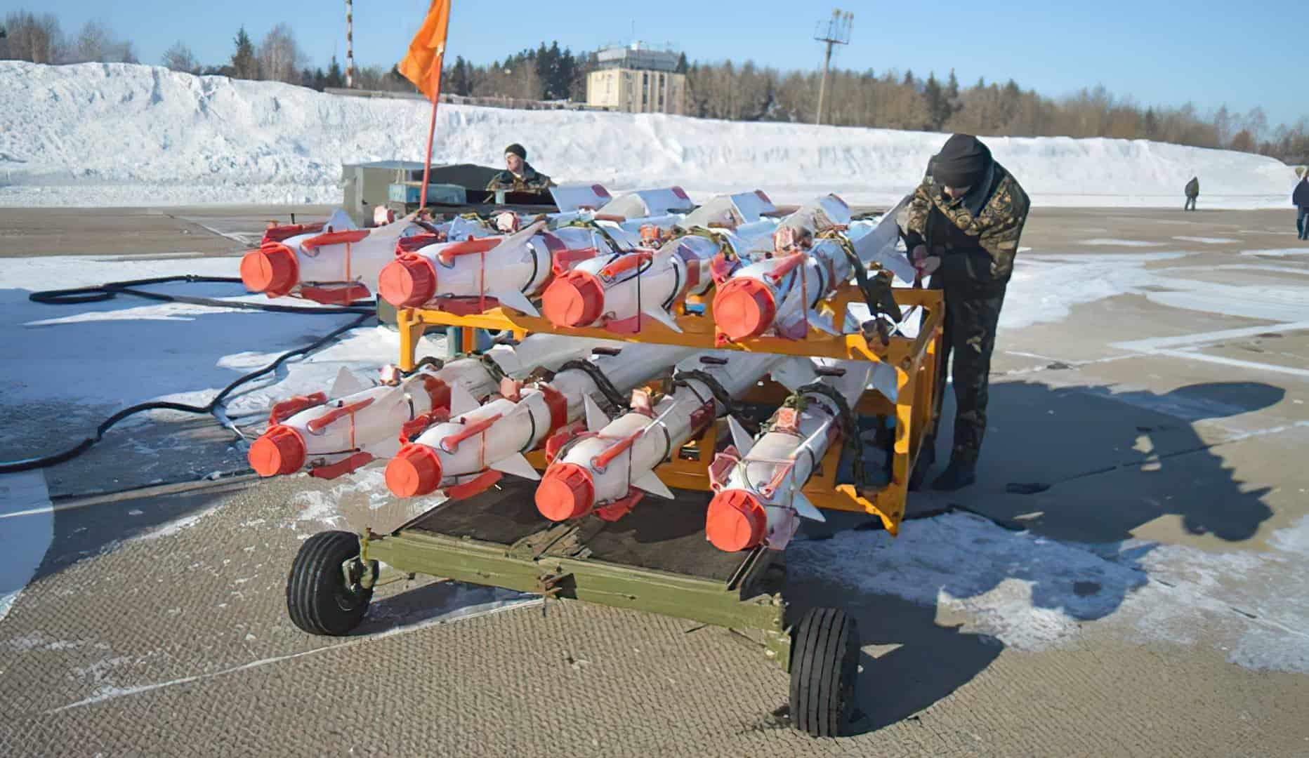Білоруські ракети Р-73 класу «повітря-повітря» Фото: vpk.gov.by