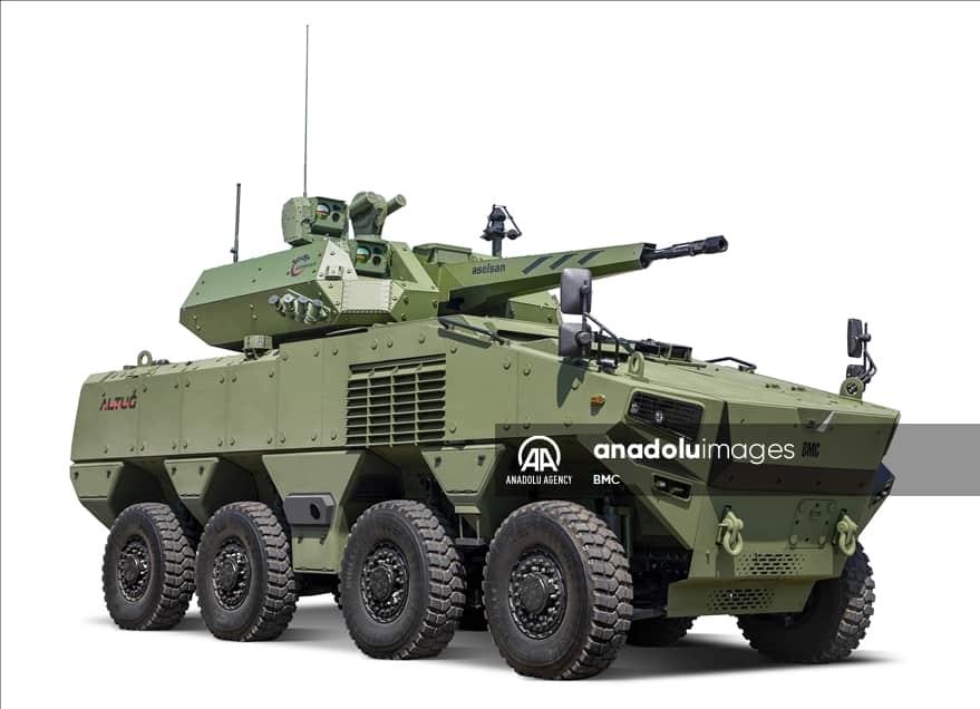 Бойова броньована машина на базі Altuğ 8x8