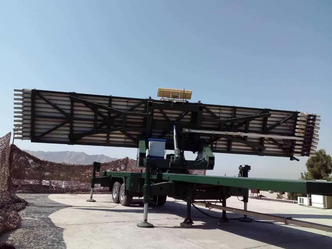 3D-радар Alborz військових Ірану. Фото: ЗМІ Ірану
