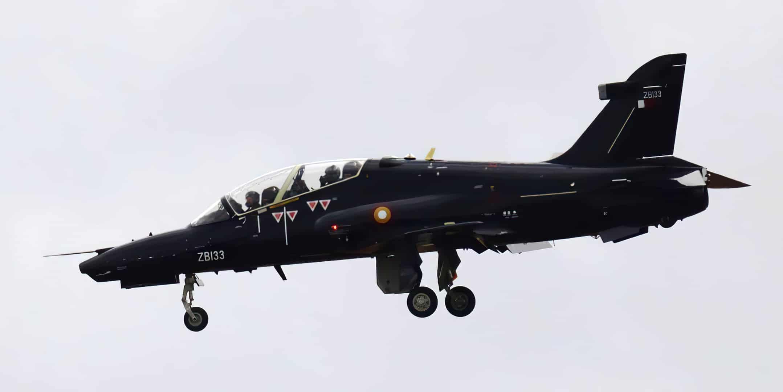 «Hawk» Mk167 під номером ZB133 Повітряних сил Катару. Вересень 2021. Фото: ЗМІ Британії