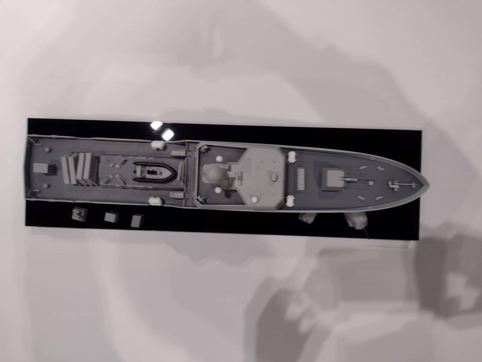 Проєкт ракетного катера презентовано компанією Babcock International. Вересень 2021. Фото: Harry Lye