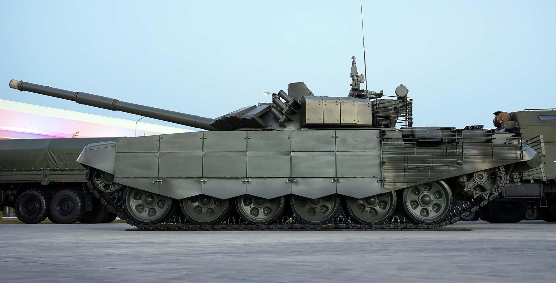 Фото: Захист танка Т-72Б3М 2016 року модифікації