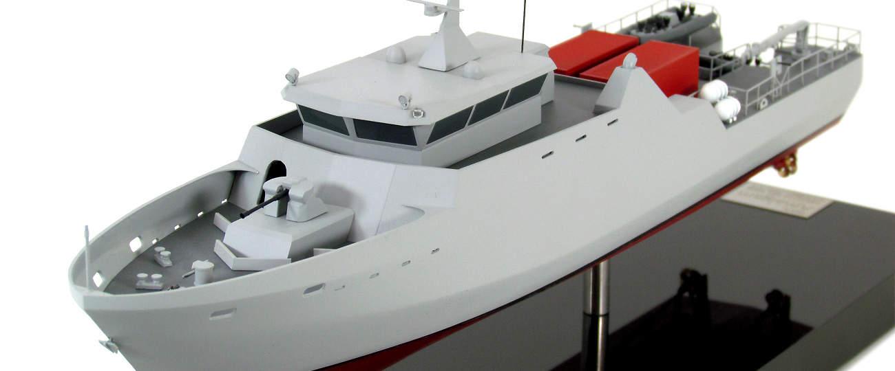 Модель патрульного катеру Protector 50 (1)