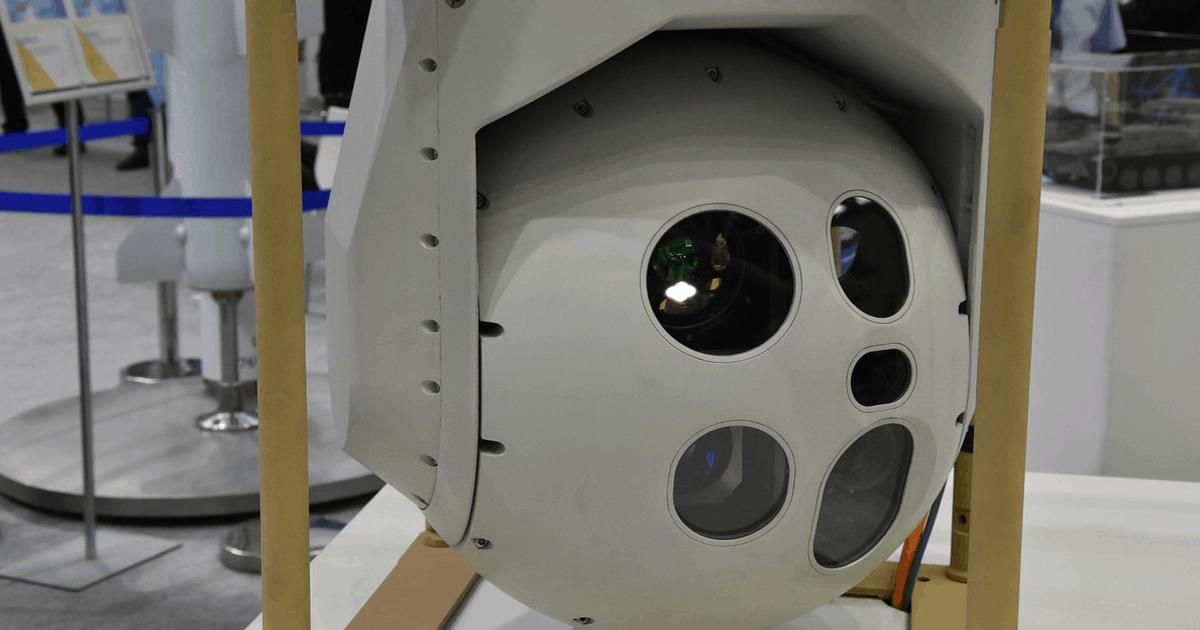 Модернізована високоточна оптико-прицільна станція наведення (ОПСН-І). Фото: АрміяІнформ