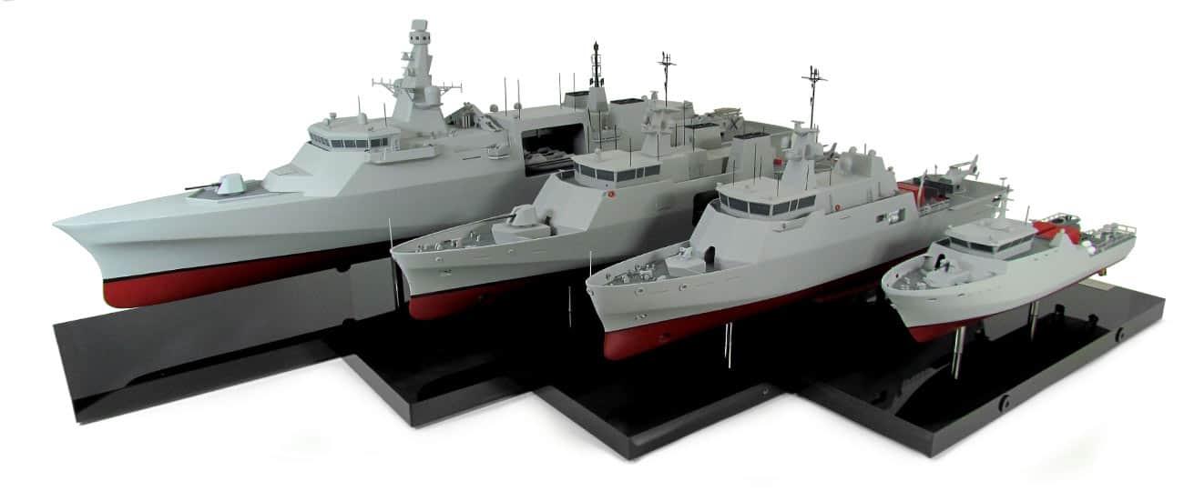 Проєкти катерів та кораблів від компанії Babcock