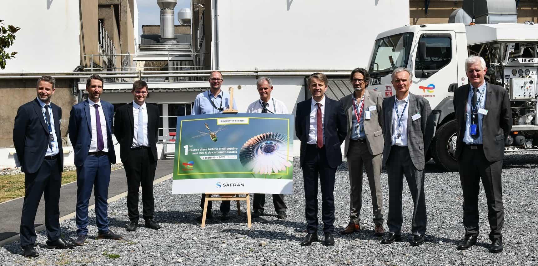 Представники компанії Safran Helicopter Engines