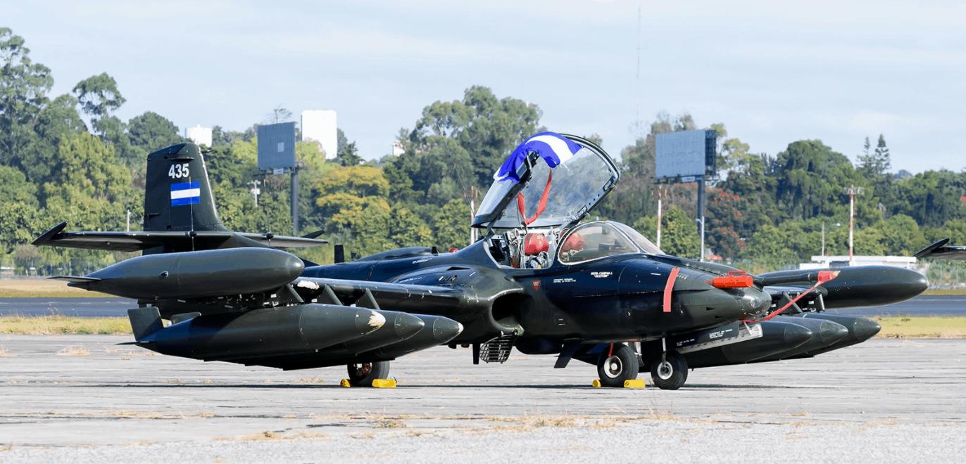 Cessna A-37 Dragonfly ВПС Сальвадору. 2017 рік. Фото: jetphotos.com