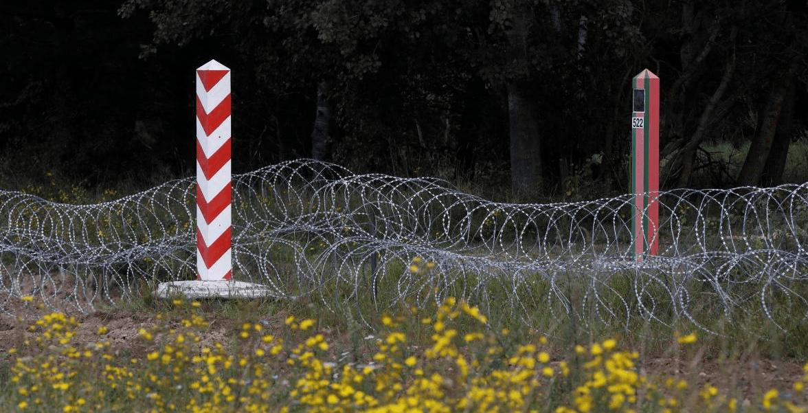 Фото: Кордон Польщі за Білорусі