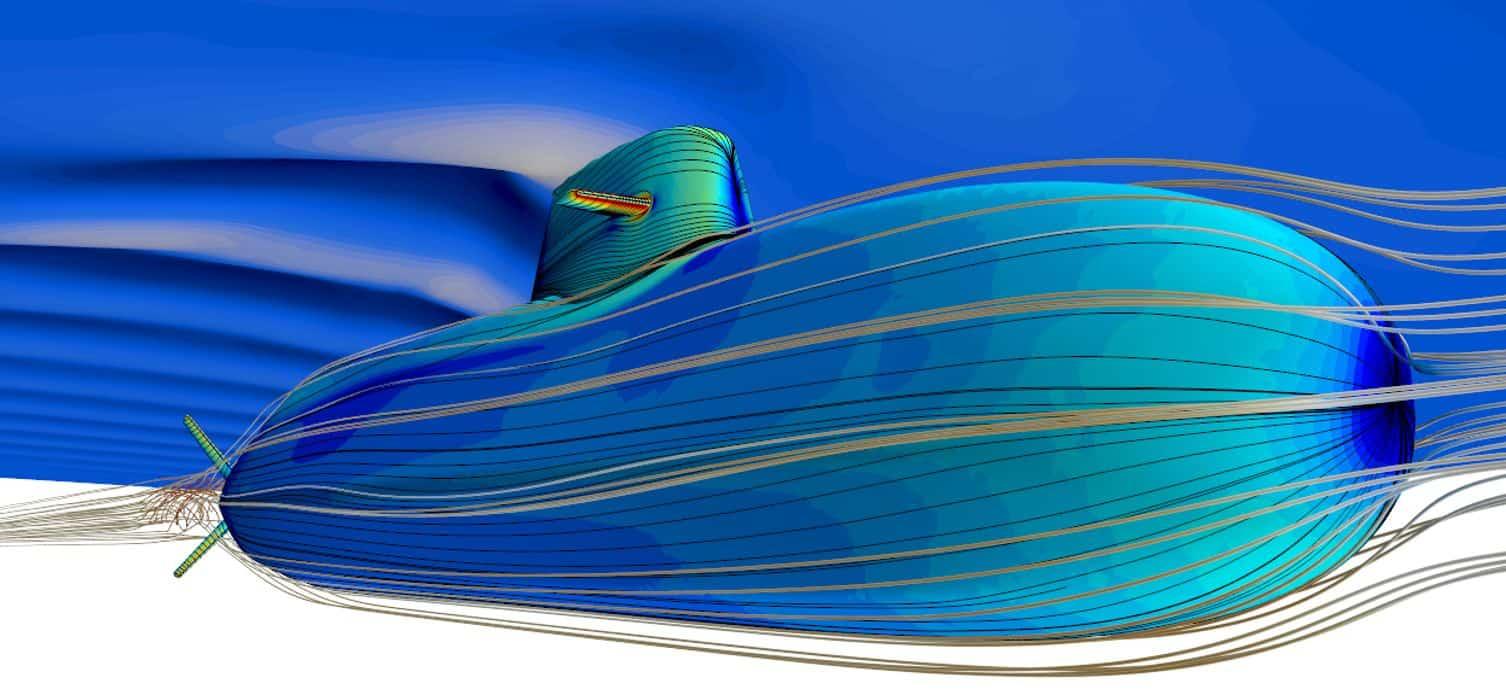 Приклад зменшення акустичної сигнатури човна