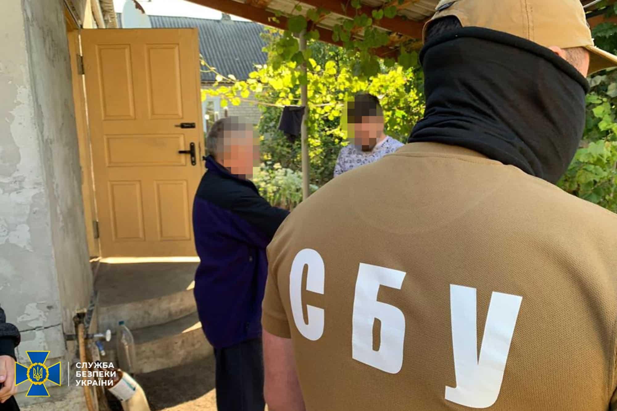 Затримання співробітниками СБУ бойовика «ДНР»