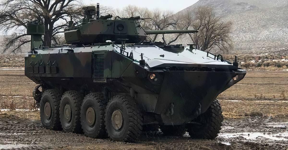 Бронемашина-амфібія ACV (Amphibious Combat Vehicles). Фото: З відкритих джерел