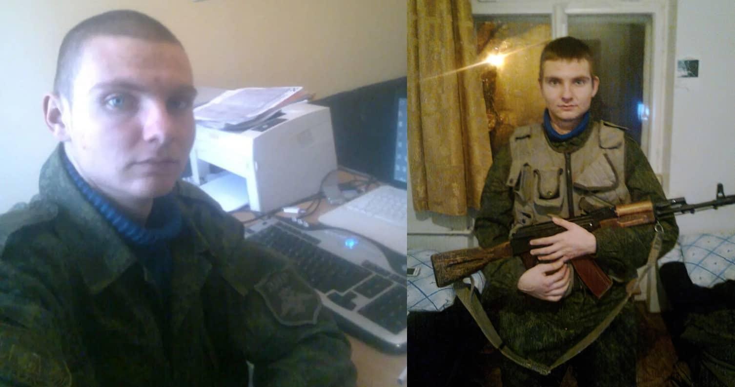 Олександра Слєпцов на службі у бойовиків