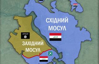 Ситуація в Мосулі станом на 24 лютого 2017 року