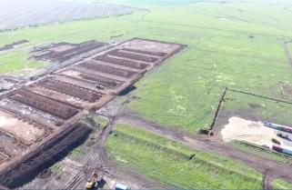 Юрій Бірюков показав масштаби будівництва на полігоні Широкий Лан з висоти пташиного польоту