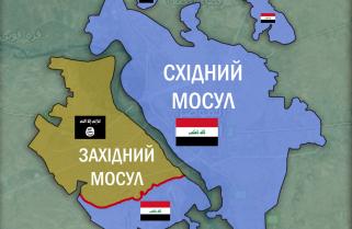 """Урядові сили Іраку вибили бойовиків терористичної угруповання """"Ісламська держава"""" (ІДІЛ) з низки держустанов на заході міста Мосул."""