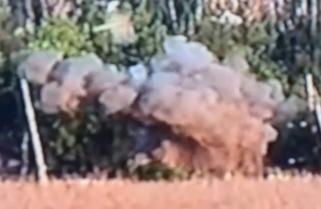 Відео з ліквідацією спостережного пункту російсько-терористичних військ на Донбасі