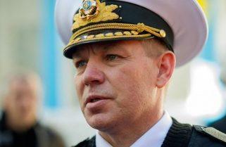 Міністр оборони звільнив екс-командуючого ВМС віце-адмірала Сергія Гайдука з ЗСУ