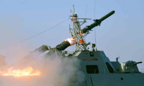 КНДР здійснила пуски протикорабельних ракет