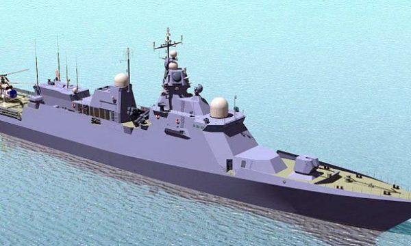 Стан будівництва корвету проекту 58250 на Чорноморському суднобудівному заводі.