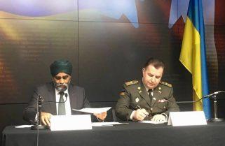 """Між Україною та Канадою підписано """"Домовленість про оборонне співробітництво"""""""