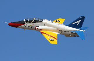 У США розбився навчально-тренувальний літак T-45 Goshawk