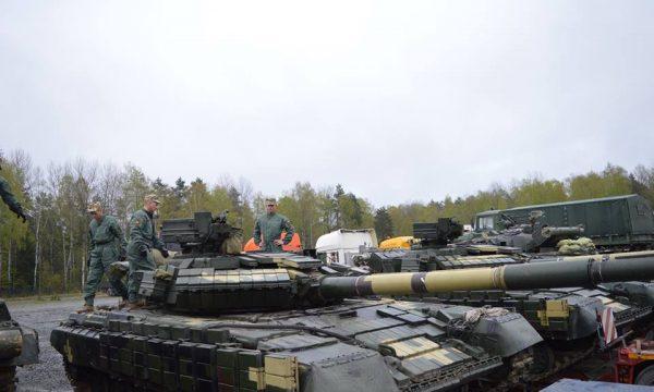 До Німеччини доставлено техніку танкового взводу Збройних Сил України, який бере участь у міжнародних танкових змаганнях «Сильна Європа».
