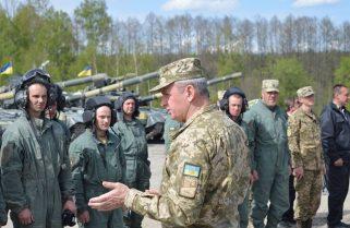 Підтримати нашу команду на «Strong Europe Tank Challenge» прибув начальник Генерального штабу Віктор Муженко