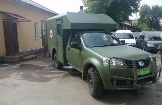 До 10 гірсько-штурмової бригади надійшли нові санітарні автомобілі
