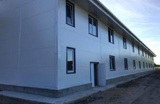 Завершується будівництво житлових та побутових фондів для одного з батальйонів у Одеській області