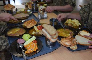 Західна військово-морська база ВМС України однією з перших перейшла на нові норми харчування