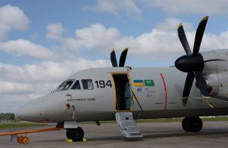 An-132D здійснив політ на Паризькому авіашоу