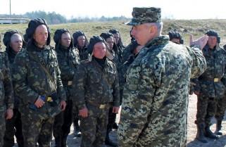 Міністр оборони проінспектував готовність відмобілізованих резервістів