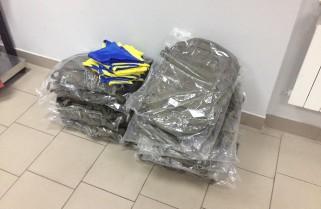 Відправили 12 рюкзаків для спецури ВМС